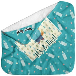 Baby Shower Baby Hooded Towel (Personalized)