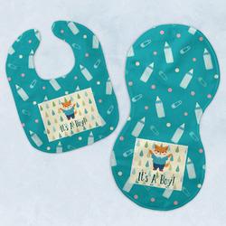 Baby Shower Baby Bib & Burp Set