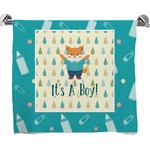Baby Shower Full Print Bath Towel (Personalized)