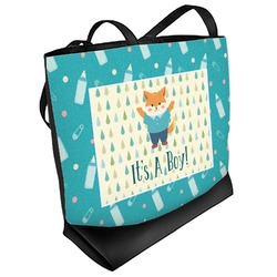Baby Shower Beach Tote Bag (Personalized)
