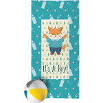 Baby Shower Beach Towel (Personalized)
