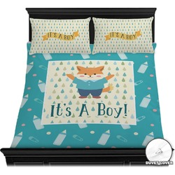 Baby Shower Duvet Cover Set (Personalized)