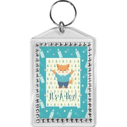 Baby Shower Bling Keychain (Personalized)