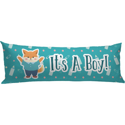 Baby Shower Body Pillow Case (Personalized)