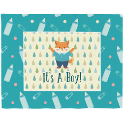 Baby Shower Woven Fabric Placemat - Twill