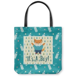 Baby Shower Canvas Tote Bag (Personalized)