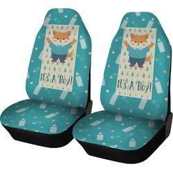 Baby Shower Car Seat Covers (Set of Two) (Personalized)