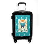 Baby Shower Carry On Hard Shell Suitcase (Personalized)