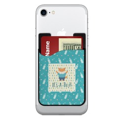Baby Shower 2-in-1 Cell Phone Credit Card Holder & Screen Cleaner (Personalized)