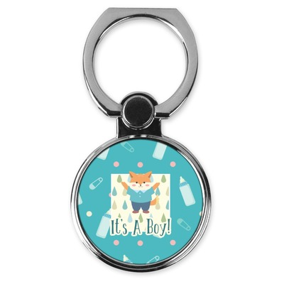 Baby Shower Cell Phone Ring Stand & Holder (Personalized)