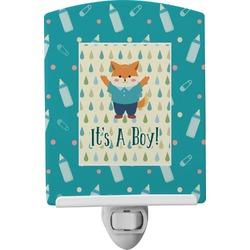 Baby Shower Ceramic Night Light (Personalized)