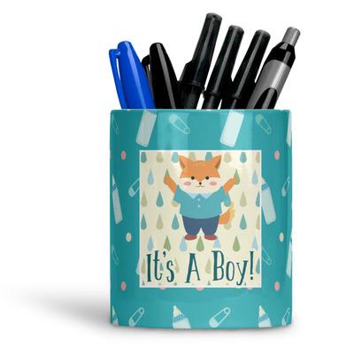 Baby Shower Ceramic Pen Holder
