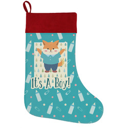 Baby Shower Holiday / Christmas Stocking (Personalized)