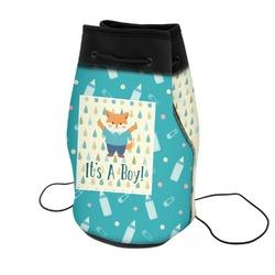 Baby Shower Neoprene Drawstring Backpack (Personalized)