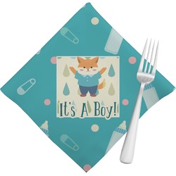 Baby Shower Napkins (Set of 4) (Personalized)