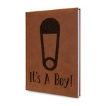 Baby Shower Leatherette Journal (Personalized)