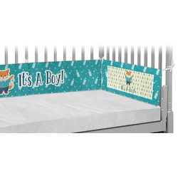 Baby Shower Crib Bumper Pads (Personalized)