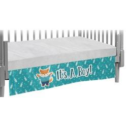 Baby Shower Crib Skirt (Personalized)