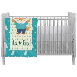 Baby Shower Crib Comforter / Quilt (Personalized)