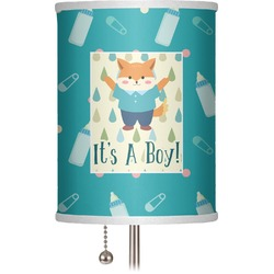 """Baby Shower 7"""" Drum Lamp Shade (Personalized)"""