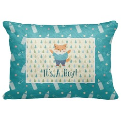 "Baby Shower Decorative Baby Pillowcase - 16""x12"" (Personalized)"