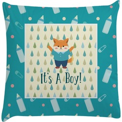 Baby Shower Decorative Pillow Case (Personalized)