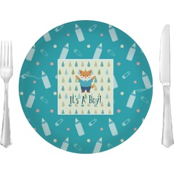 """Baby Shower 10"""" Glass Lunch / Dinner Plates - Single or Set (Personalized)"""