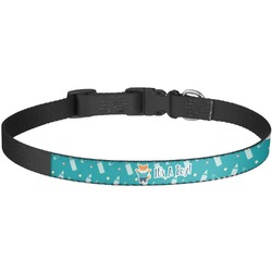 Baby Shower Dog Collar - Large (Personalized)