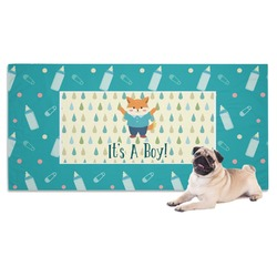 Baby Shower Dog Towel (Personalized)
