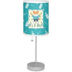 """Baby Shower 7"""" Drum Lamp with Shade (Personalized)"""
