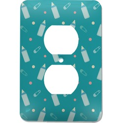 Baby Shower Electric Outlet Plate (Personalized)
