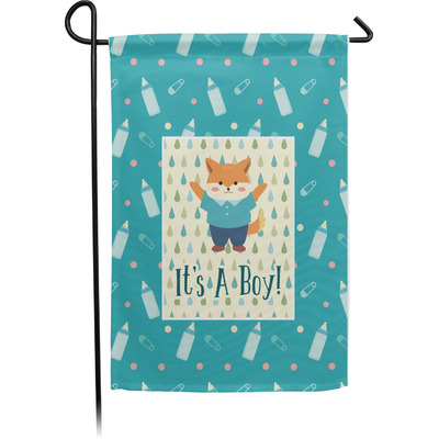 Baby Shower Garden Flag - Single or Double Sided (Personalized)