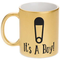 Baby Shower Gold Mug (Personalized)