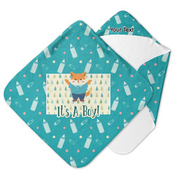 Baby Shower Hooded Baby Towel (Personalized)