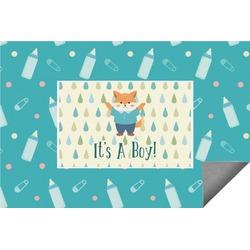 Baby Shower Indoor / Outdoor Rug (Personalized)