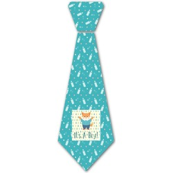 Baby Shower Iron On Tie (Personalized)