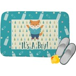 Baby Shower Memory Foam Bath Mat (Personalized)