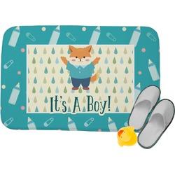 Baby Shower Memory Foam Bath Mat (Personalized)