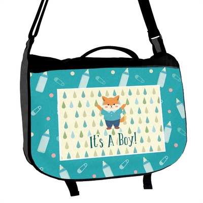 Baby Shower Messenger Bag (Personalized)