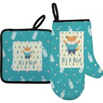 Baby Shower Oven Mitt & Pot Holder (Personalized)