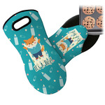 Baby Shower Neoprene Oven Mitt (Personalized)