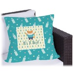 Baby Shower Outdoor Pillow (Personalized)