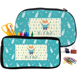 Baby Shower Pencil / School Supplies Bag (Personalized)