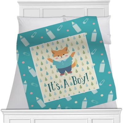 Baby Shower Minky Blanket (Personalized)