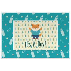 Baby Shower Laminated Placemat