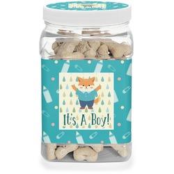Baby Shower Dog Treat Jar (Personalized)