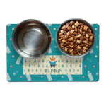 Baby Shower Pet Bowl Mat (Personalized)