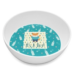 Baby Shower Melamine Bowl 8oz (Personalized)