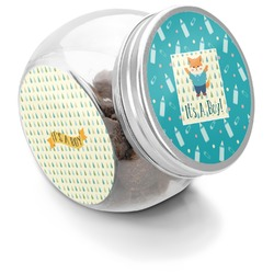 Baby Shower Puppy Treat Jar (Personalized)