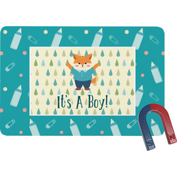 Baby Shower Rectangular Fridge Magnet (Personalized)